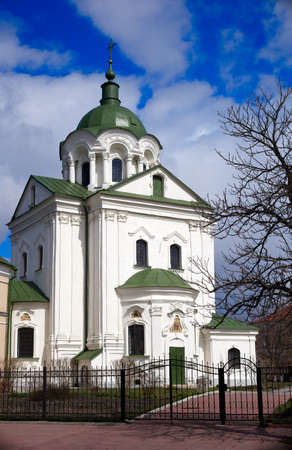 View of church in Kiev, Ukraine photo