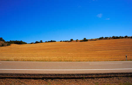 Road in the countryside, Spain photo