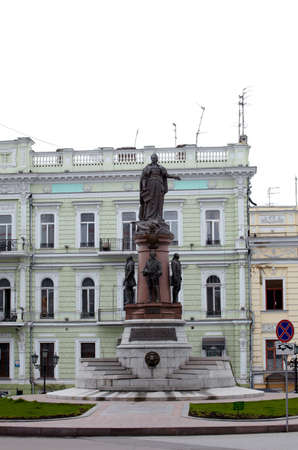 Monument to Empress Catherine in Odessa