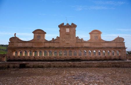Granfonte, Baroque fountain in Leonforte, Sicily - Italy