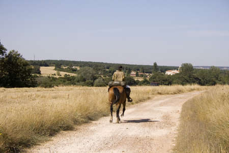way of st  james: Ride in the spanish countryside, Way of St. James