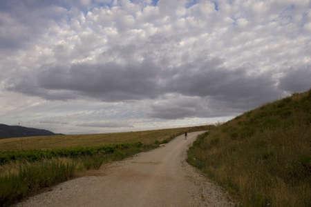 pilgrim journey: Pilgrims on the road, Way of St. James