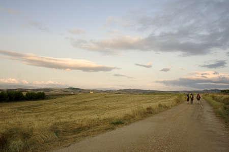 pilgrim journey: Pilgrims, way of St. James in Spain