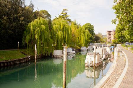View of Ausa river, Cervignano - Italy