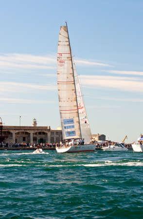 Trieste Barcolana,  2009 - The Trieste regatta  - Italy - http://www.barcolana.it/ Stock Photo - 13916789