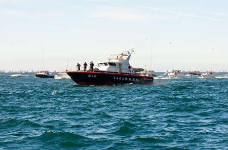 Trieste Barcolana,  2009 - The Trieste regatta  - Italy - http://www.barcolana.it/ Stock Photo - 13916791