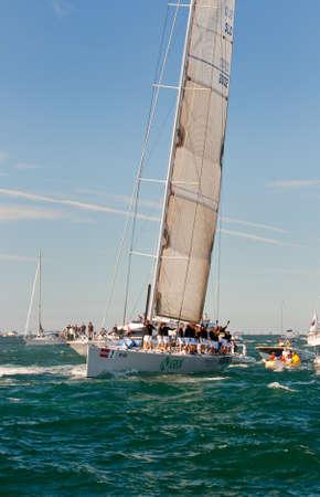 Trieste Barcolana,  2009 - The Trieste regatta  - Italy - http://www.barcolana.it/ Stock Photo - 13916786