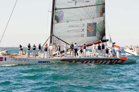 Trieste Barcolana,  2009 - The Trieste regatta  - Italy - http   www barcolana it  Stock Photo - 13916782