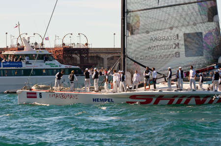 http  www:  Trieste Barcolana,  2009 - The Trieste regatta  - Italy - http   www barcolana it