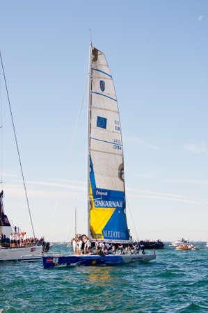 Trieste Barcolana,  2009 - The Trieste regatta  - Italy - http   www barcolana it  Stock Photo - 13916770