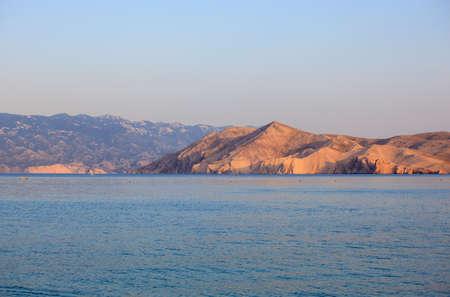 View of Baska, Krk island in Dalmatia - Croatia Stock Photo - 14580503