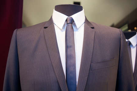 buttonhole: Photo of a Male mannequin with clothes