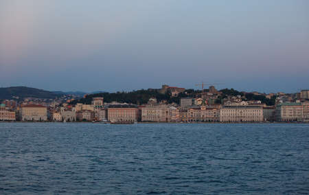 View of Trieste at sunset - Italy Stock Photo - 14873361
