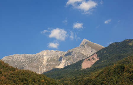 julian: View of Krn mountain - Julian alps, Slovenia
