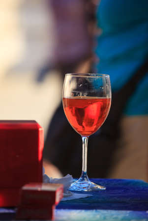 Photo of Glass with Spritz, Italian drink