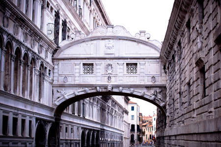 View of Bridge of Sighs in Venice, Italy Stock Photo - 15117033