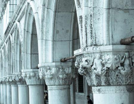 corinthian: Photo of tipical corinthian columns of Venice