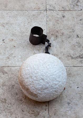 prisoner ball and chain  Stock Photo - 17216321