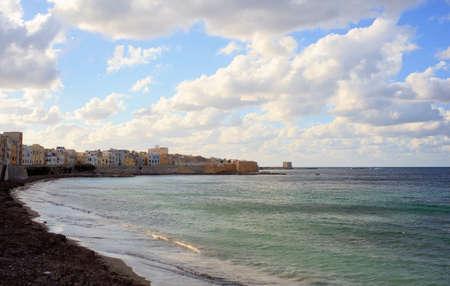 trapani: Coast of Trapani in Sicily - Italy Stock Photo
