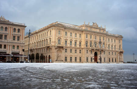Palace of the Region in Trieste, Italy