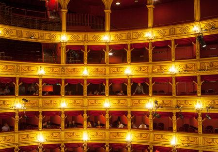 verdi: View of the Teatro Verdi in Trieste