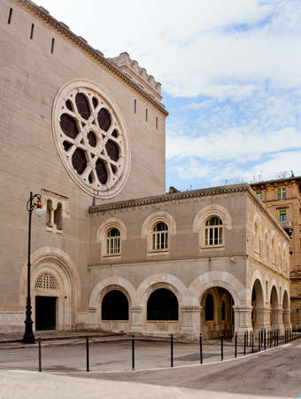 View of the Synagogue in Trieste, Italy Stock Photo
