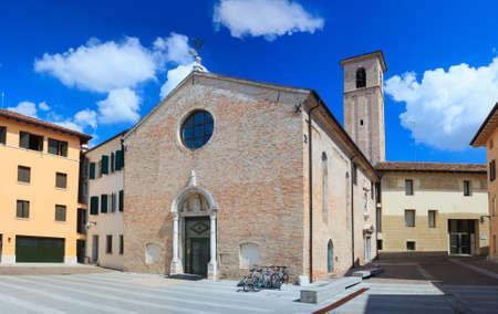 Angeli: View of Church of Santa Maria degli Angeli in Pordenone