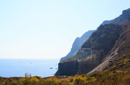 dei: View of Balata dei Turchi in Pantelleria island, Sicily Stock Photo