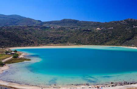 View of Lago di Venere in Pantelleria, Sicily