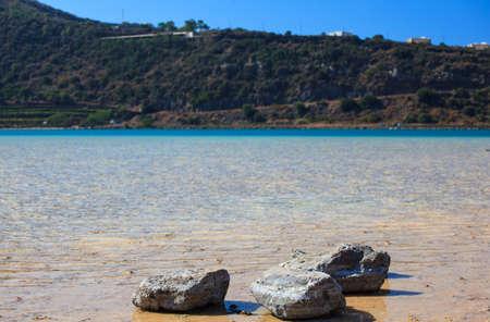 View of Lago di Venere in Pantelleria, Sicily Stock Photo - 22485818