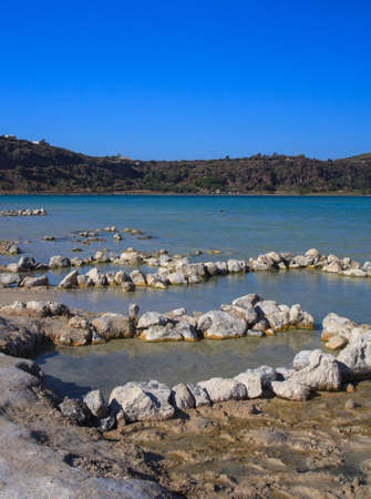View of  thermal waters in the Lago di Venere in Pantelleria, Sicily Stock Photo - 22485828