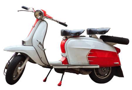 Lambretta, Italian scooter Banco de Imagens