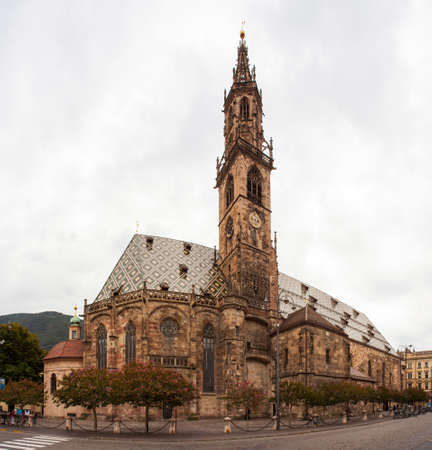 sudtirol: View of the Duomo di Bolzano,  Santa Maria Assunta