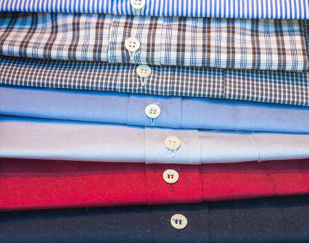 Various shirts in the men photo