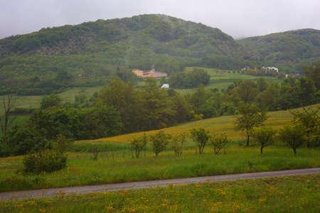 piacenza: Italian countryside near Piacenza