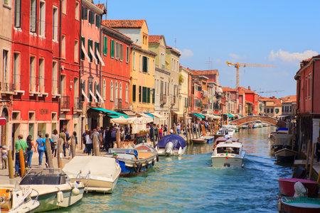 murano: View of Murano, island of Venice lagoon, Italy