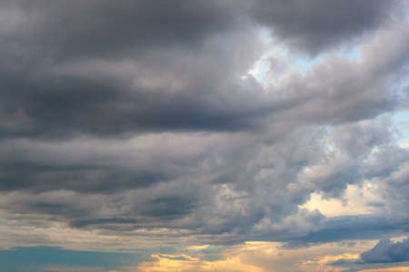 cloudy sky: View of nice cloudy sky in Trieste