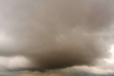 leaden: View of cloudy sky Stock Photo