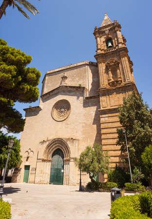 trapani: The Basilica-Sanctuary of Maria Santissima Annunziata, called Madonna of Trapani