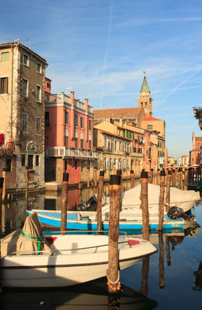 san giacomo: View of Chioggia, little town in the Venice lagoon Editorial
