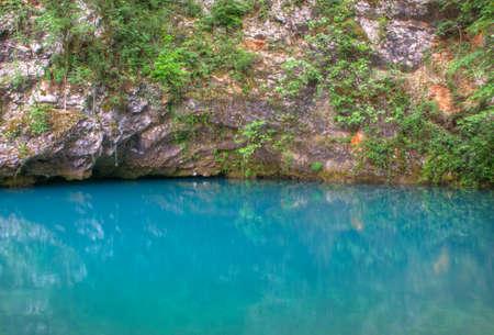 source: View of the Gorgazzo source, Polcenigo, Pordenone