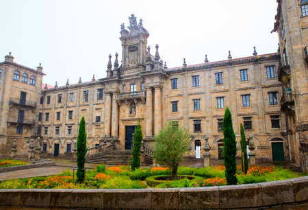 View of the Monastery of San Martin Pinario, Santiago the Compostela