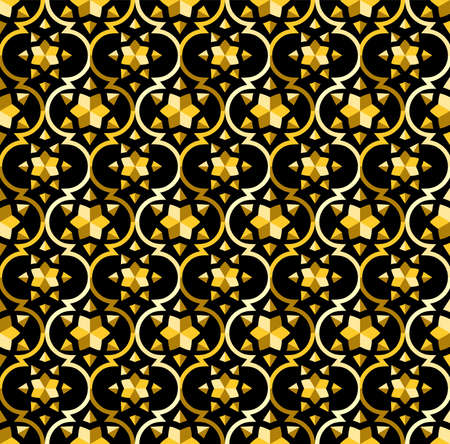 Islamic seamless pattern. vector of islamic abstract ornament design for print and fabric motif, fashion, tile, wallpaper background design. also can use for ramadan kareem themes background