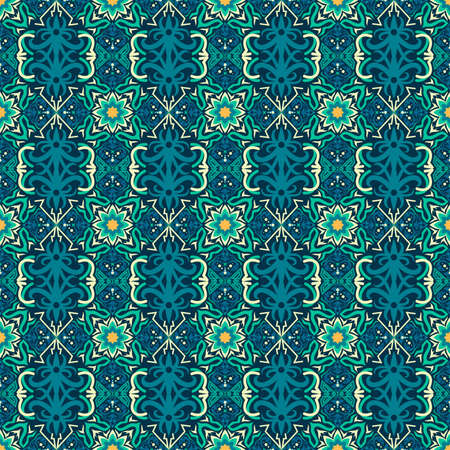 traditional seamless pattern of batik motif. Stylish fabric vector design. Creative textile background for fashion or cloth.