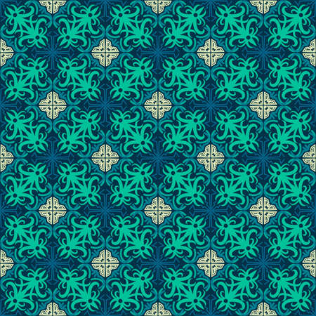 seamless pattern of ethnic pattern. fabric motif design. vector design inspiration. Creative textile for fashion or cloth. batik concept. 向量圖像