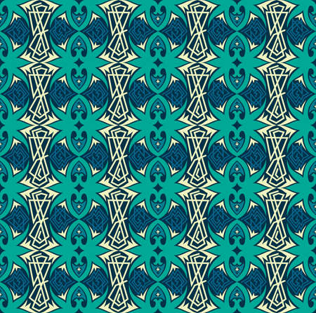 seamless pattern of ethnic pattern. fabric motif design. vector design inspiration. Creative textile for fashion or cloth. batik concept.