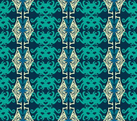 seamless pattern of ethnic pattern. fabric motif design. vector design inspiration. Creative textile for fashion or cloth. batik concept