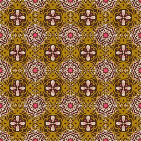 seamless pattern of ethnic pattern. fabric motif design. vector  design inspiration. Creative textile for fashion or cloth. batik  concept.