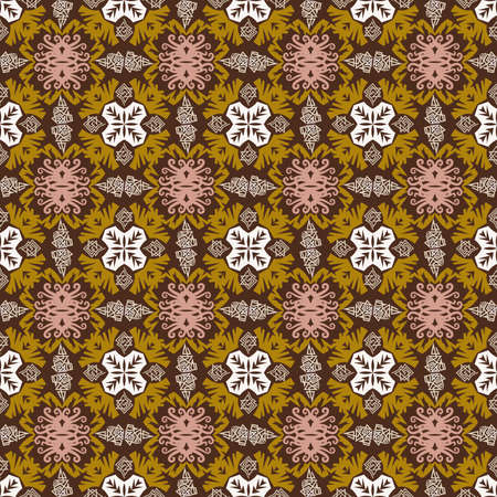 seamless pattern of ethnic pattern. fabric motif design. vector design inspiration. Creative textile for fashion or cloth. batik concept. 일러스트