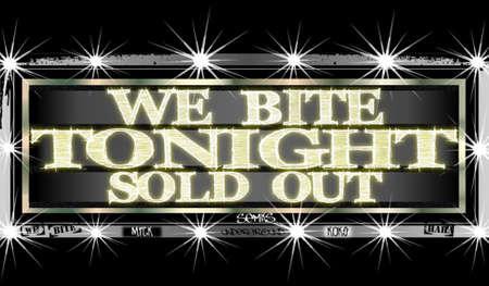 tonight: cinema sign